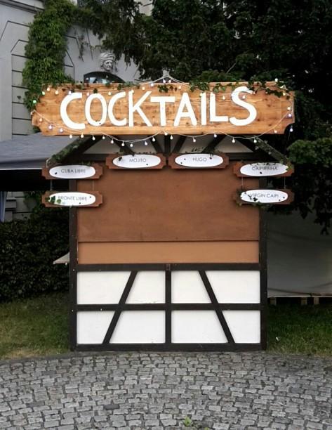 Cocktailbude im Dornröschenschlaf